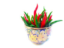 Chilli and hot Royalty Free Stock Image
