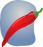 Chilli illustration Royalty Free Stock Image