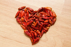 Chilli love Royalty Free Stock Photo