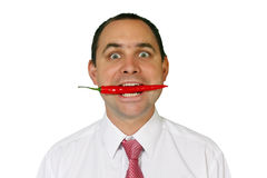 Chilli man Royalty Free Stock Photography