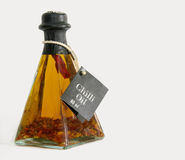 Chilli oil Stock Image