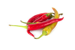 Chilli pepper. Isolated on white background Stock Photo