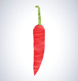 Chilli pepper illustration Royalty Free Stock Photography