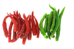 Chilli Pepper Topview Royalty Free Stock Photography