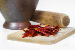 Chilli. Pepper vegetable kitchen food Royalty Free Stock Images