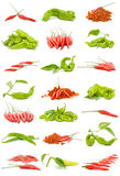 Chilli and peppers Royalty Free Stock Photos