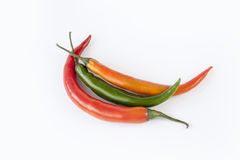 Chilli peppers Stock Image