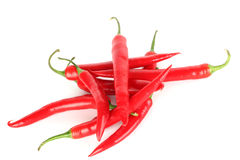 Chilli pile Royalty Free Stock Photos