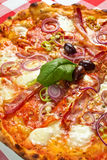 Chilli Pizza Royalty Free Stock Image