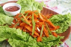 Chilli Potato Chinese Recipes Stock Image