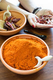 Chilli powder Stock Photography