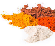 Chilli powder. Spice Mix on background Royalty Free Stock Image