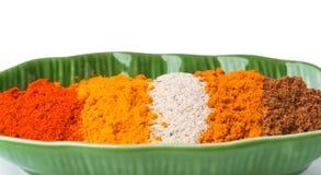 Chilli powder. Spice Mix on background Royalty Free Stock Photos