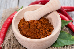 Chilli Powder Royalty Free Stock Images