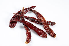 Chilli red dried pepper Stock Photo