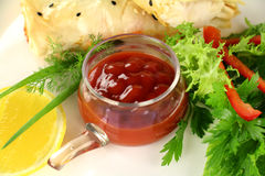 Chilli relish Royalty Free Stock Images