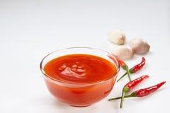 Chilli sauce Stock Photography