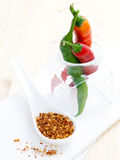 Chilli and seeds Stock Photography