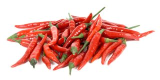 Chilli stack Royalty Free Stock Images
