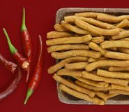 Chilli sticks Royalty Free Stock Photography
