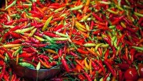 chillies Royalty-vrije Stock Afbeeldingen