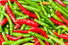 Chillies background Royalty Free Stock Images