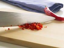 chillies siekający Zdjęcie Stock
