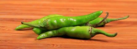chillies zieleń Obrazy Royalty Free