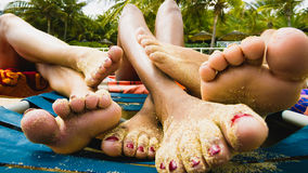 Chillin Royalty Free Stock Images