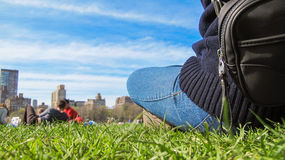 Chilling in the Park Stock Photography