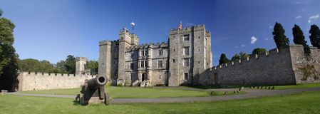 Chillingham Castle Royalty Free Stock Photography