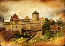 Chillion castle Stock Photos