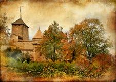 Chillion castle Stock Images