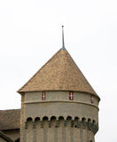Chillion Schloss-Kontrollturm Lizenzfreie Stockbilder