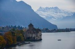 Chillions-Schloss lizenzfreie stockbilder