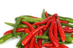 Chillis Stock Photo