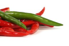 Chillis Royalty Free Stock Photo