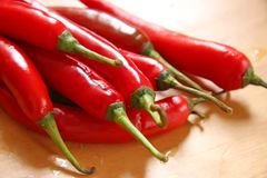Chillis frais Photo stock
