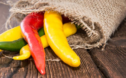 Chillis Stock Image