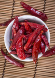 Chillis sec Photographie stock