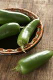 Chillis verde Imagen de archivo libre de regalías
