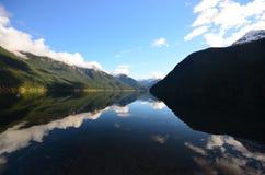 Chilliwack湖 库存照片