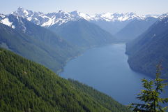 Chilliwack Lake in North Cascades Stock Image