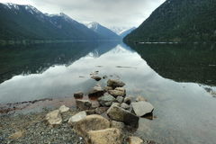 Chilliwack lake provincial park Stock Image