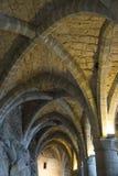 Chillon城堡土牢  免版税库存照片