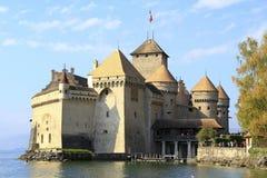 chillon Швейцария замока Стоковые Фотографии RF