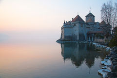 Chillon castle Stock Photography