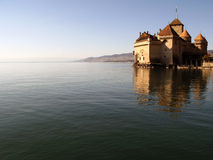 Chillon Castle 2, Montreux CH Stock Image