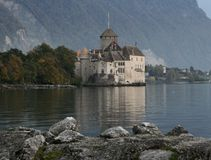 The Chillon castle Stock Images