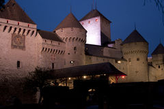Chillon castle Stock Image